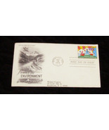 Peter Max preserving the environment first day cover addressed - $16.99