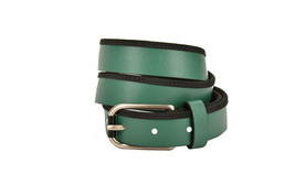 Emporio Armani Womens Y4S021 Belt Genuine Leather YK50E Green Size 46 - $59.36
