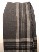 Talbots Petites 100% Wool Pencil Skirt With Side Fringe. Made In The USA - $46.74