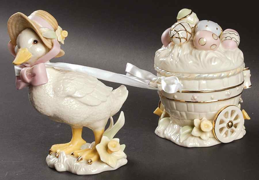 Lenox duck and cart