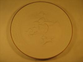 "8"" Ceramic Collector Plate CHRISTMAS 1985 Avon 24K Gold CHILD'S CHRISTMA... - $5.41"