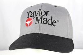 TaylorMade Gray/Black Baseball Cap Stretch Fit S-M - $19.99