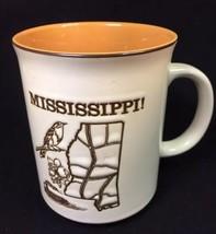Vintage MIssissippi Souvenir Collector Mug - $22.02