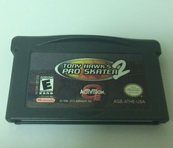 Nintendo Game Boy Advance Tony Hawk's Pro Skater 2001 2 Cartridge ONLY - $9.89