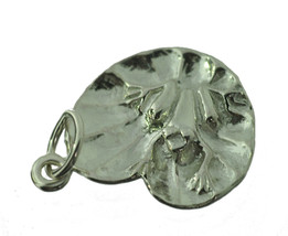 NICE Sterling Silver Frog chilling lilly pad waiting for kiss from Princ... - $14.40