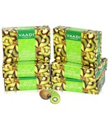 Vaadi Herbals Super Value Exotic Kiwi Soap with Green Apple 75gm Pack Of 6 - $17.43