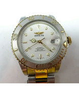 VINTAGE INVICTA PRO 200M AUTOMATIC MYOTA 21 JEWEL WATCH RUNS TO RESTORE ... - $125.00