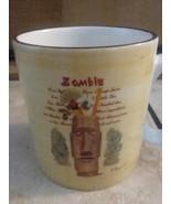 Coffee Mug Cup Sakura Tiki Zombie Paul Brent Tiki Tiki  - $15.99