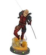 DIAMOND SELECT TOYS Marvel Gallery: Unmasked Deadpool PVC Figure, Multic... - $59.39