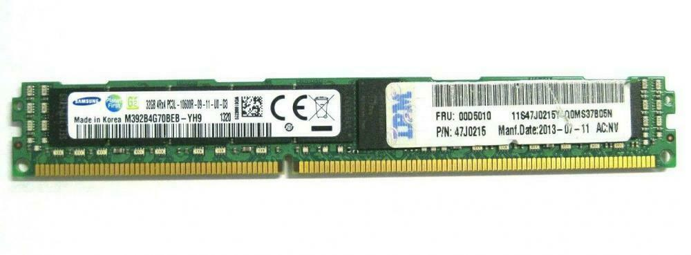 Samsung 32GB 4Rx4 PC3L-10600R 1333MHz Mémoire Serveur RAM M392B4G70BEB-YH9