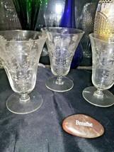 Vintage Tiffin-Franciscan  Iced Tea Goblets 10.5 oz (3) - $39.59