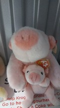 Ty Beanie Babies and Buddies Squealer the Pink Pig - $19.99