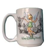 "Disney Parks Walt Disney World TINKER BELL ""Tink"" Embossed Coffee Cup Mug - $39.99"