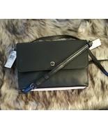 NWT COACH 38979 Leather Triple Colorblock Black Pink White GM Crossbody Bag - $109.99