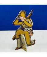 Bomber Raid vtg board game piece 1943 Fairchild toy soldier military bin... - $19.69