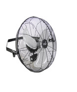 Vie Air Dual Function 18 Inch Wall Mountable Tilting Fan with 3 Speed Mo... - $90.98