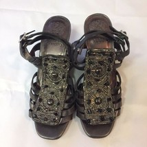 Vince Camuto Wedge Sandals Sz 6B Gently Used - $13.00