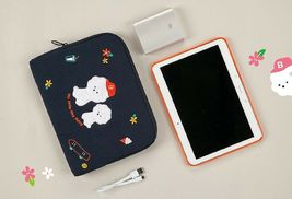 AntenaShop Boucle Bichon iPad Tablet Sleeve Pouch Bag Cover Case Korean Design image 3