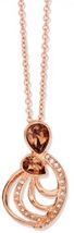 NIB AVON COMING UP ROSES NECKLACE & EARRING GIFT SET - $14.99