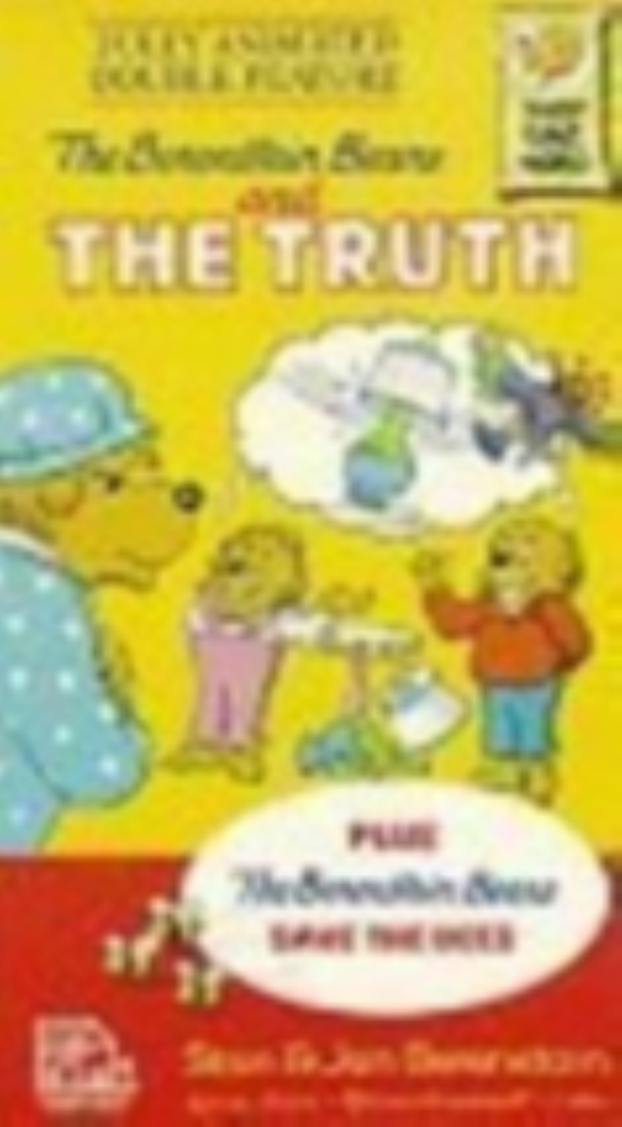 The Berenstain Bears and The Truth Vhs