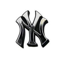New York Yankees Auto Car Emblem Logo Chrome Mlb Major League Baseball - $27.07