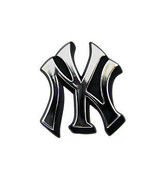 NEW YORK YANKEES AUTO CAR EMBLEM LOGO CHROME MLB MAJOR LEAGUE  BASEBALL - $27.07