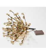 Home Reflections Battery Operated Lit Berry Picks  in Gold  AC3 - $96.99