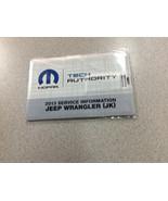 2013 Jeep Wrangler Electrical Wiring Diagram Manual on USB EWD ETM OEM - $188.05