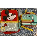 Brand New Disney Mickey Mouse School Backpack with Matching Insulated Lunch Tote - $68.70