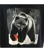 Bear with Sunglasses T Shirt XL Gildan Heavy Cotton - $16.73