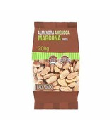 Marcona Almonds Roasted Slighly Salted 200 grs Gluten Free Calcium Seale... - $29.99