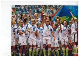 World Cup Team USA 2015 Vintage 8X10 Color Soccer Memorabilia Photo - $4.99
