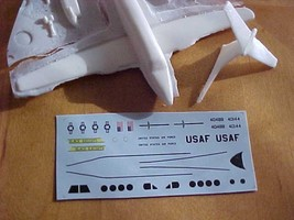 1/144 scale Resin Model Kit Beech 200 C-12 Huron US Air Force 2 Decal Options image 6
