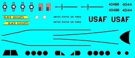 1/144 scale Resin Model Kit Beech 200 C-12 Huron US Air Force 2 Decal Options image 2