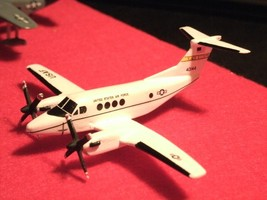 1/144 scale Resin Model Kit Beech 200 C-12 Huron US Air Force 2 Decal Options image 4