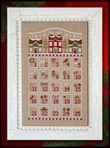 Countdown to Christmas cross stitch chart Country Cottage Needleworks - $7.20