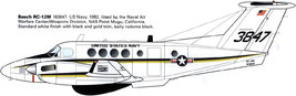 1/144 scale Resin Model Kit Beech 200 RC-12M or UC-12B Huron US Navy  - $19.00
