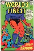 Worlds Finest #158 1966-DC COMICS-BATMAN-SUPERMAN Vg - $25.22