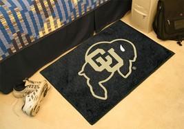 NCAA -  Colorado Starter Rug 19 inch x30 inch   - $34.99