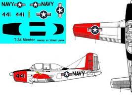 1/144 scale Resin Model Kit Beech T-34 Mentor - $12.00