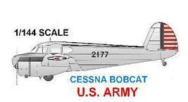 1/144 scale Resin Model Kit Cessna Bobcat 2177 US Army - $15.00