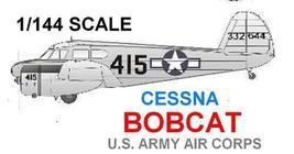 1/144 scale Resin Model Kit Cessna Bobcat 415 US Army - $15.00