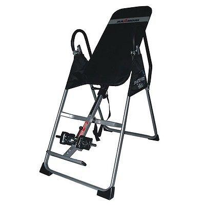 Inversion table ironman gravity hanging back pain therapy for 1201 back therapy inversion table