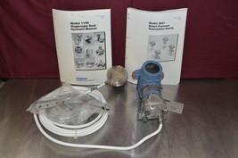 Rosemount 3051C Pressure Transmitter w/ Model 1199 Diaphragm Seal & Manuals NIB - $1,336.50