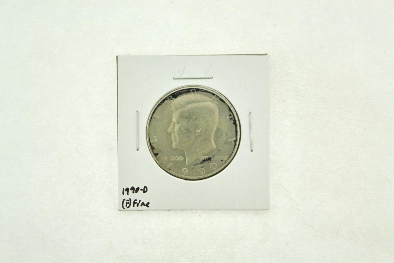 1990-D Kennedy Half Dollar (F) Fine N2-3833-5