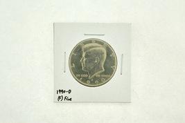 1990-D Kennedy Half Dollar (F) Fine N2-3833-8 - $4.99