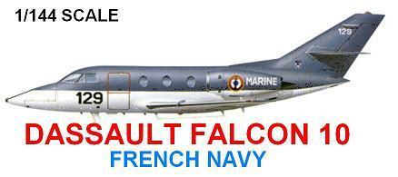 Falcon 10 french navy