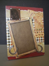"Tabletop Picture Frame ""I LOVE HORSES"" Western ... - $7.99"
