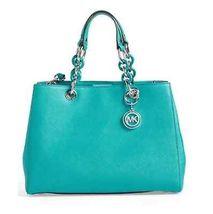 Michael Kors Handbag Cynthia Medium Saffiano Le... - $289.99