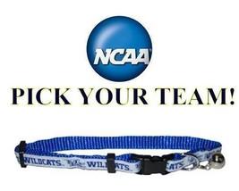 NCAA Cat Collar * PICK YOUR TEAM * Collegiate College Football Kitty Kit... - $11.99